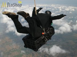 Peli 1650 gurulós műanyag táska, védőtok, fotós táska, kamera táska, választható felszereltséggel Belső: 725x445x270 mm