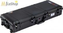 Peli AIR CASE 1745 gurulós műanyag táska, védőtok - fekete színben, választható felszereltséggel Belső: 1118 × 426 × 202 mm