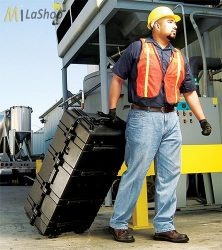 Peli Case 1780 gurulós műanyag védőtáska, védőtok, választható felszereltséggel Belső: 1066x559x383 mm