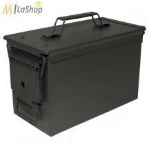 MFH US lőszer doboz cal. 50, M2A1, fém - Belső: 28 x 14,5 x 17 cm