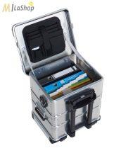 ZARGES K 424 XC Office mobil alumínium láda