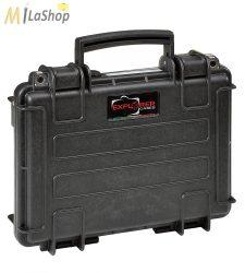 Explorer védőtáska pisztoly vagy Ipad/ kompakt notebook tárolásra, szállításra, üresen vagy  2 féle szivacsbetétes változatban - több színben (3005) Belső:300 x 210 x 58 mm