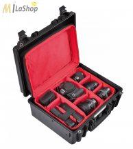 Explorer fotó/videó védőtáska - választófalas betétes hátizsákkal (4419BPHB) Belső: 445 x 345 x 190 mm