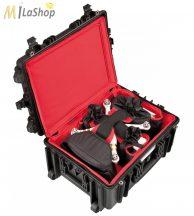 Explorer gurulós fotó/videó védőtáska drónok, kiegészítők részére kialakított hátizsákkal (5326BDR) Belső: 538 x 405 x 250 mm