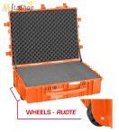 Explorer gurulós védőtáska üresen vagy szivacsbetéttel - több színben (7726) Belső:770 x 580 x 265 mm