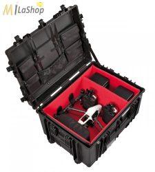 Explorer gurulós fotó/videó védőtáska drónok, kiegészítők számára (7745BDR) Belső: 770 x 580 x 450 mm