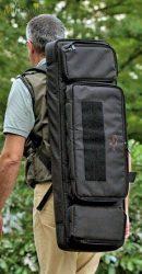 Explorer vászon fegyvertáska vállszíjjal, (választható plusz hátizsák pánttal is) 1080x400x135 mm