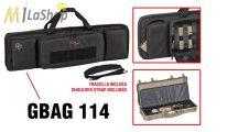 Explorer vászon fegyvertáska vállszíjjal, (választható plusz hátizsák pánttal is) 1100x300x110 mm