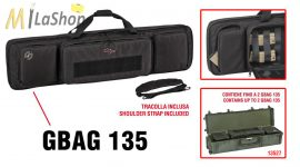 Explorer vászon fegyvertáska vállszíjjal, (választható plusz hátizsák pánttal is) 1350x350x135 mm