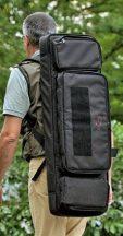 Explorer vászon fegyvertáska vállszíjjal, (választható plusz hátizsák pánttal is) 940x300x110 mm