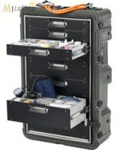 Peli Hardigg Mobil orvosi szekrények - 4 vagy 8 fiókos kivitelben