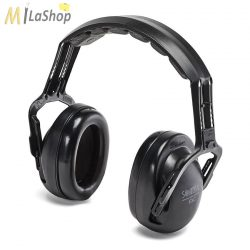 Sordin EXC passzív hallásvédő, fültok, fejpántos vagy sisakra szerelhető változatban, fekete