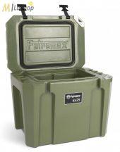 Petromax ultrapasszív hűtőtáska (akár 12 nap jégmegőrzés) olívzöld színben - 25 l