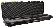 """Plano Field Locker Mil-Spec kerekes, dupla puska tok 54 """" üresen vagy szivacsbetéttel Belső: 137 x 38,10 x 18,20 cm"""