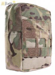 WAS (Warrior Assault Systems) lézervágott, vertikális Utility Pouch, IRR bevonattal - multicam színben