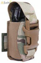 WAS (Warrior Assault Systems) lézervágott villanógránát/40 mm-es gránát tartó, IRR bevonattal - multicam színben