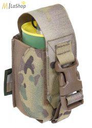 WAS (Warrior Assault Systems) lézervágott füst/foszfor gránát tartó, IRR bevonattal - multicam színben