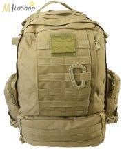 Kombat UK Viking Patrol Pack taktikai hátizsák 60 l - Coyote/barna színben