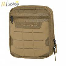 Pentagon K16076nw EDC pouch 2.0 taktikai táska 22x18x6 cm - Coyote/barna színben!