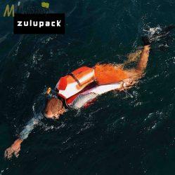 Zulupack Backpack vízálló hátizsák 25 l - narancs színben