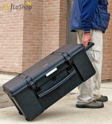 MUB878 gurulós tárolódoboz, szállítódoboz üresen vagy szivacsbetéttel - több színben Belső: 780 x 410 x 330 mm