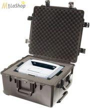 Peli Stormcase (vihartok), utazótáska, gurulós védőtáska iM2875 -  fekete színben, választható felszereltséggel Belső: 571,5x535,9x289,6 mm