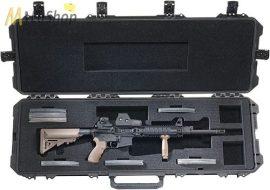 Peli Stormcase (vihartok), fegyvertáska, gurulós védőtáska iM3200 fekete színben, választható felszereltséggel  Belső: 1117,6x355,6x152,4 mm