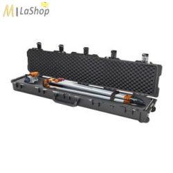 Peli Stormcase (vihartok), fegyvertáska, gurulós védőtáska iM3410, választható felszereltséggel  Belső: 1384,3x254x152,4 mm